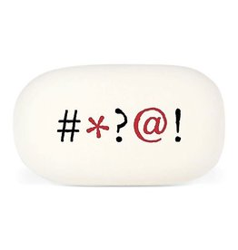 "Cavallini Papers ""Curses"" Eraser by Cavallini"