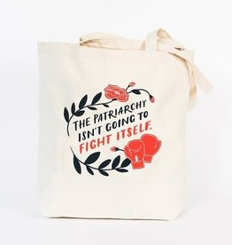Emily McDowell Fight the Patriarchy Tote Bag - Emily McDowell
