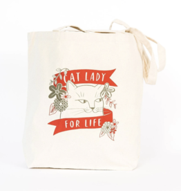 Emily McDowell Cat Lady For Life Tote Bag - Emily McDowell