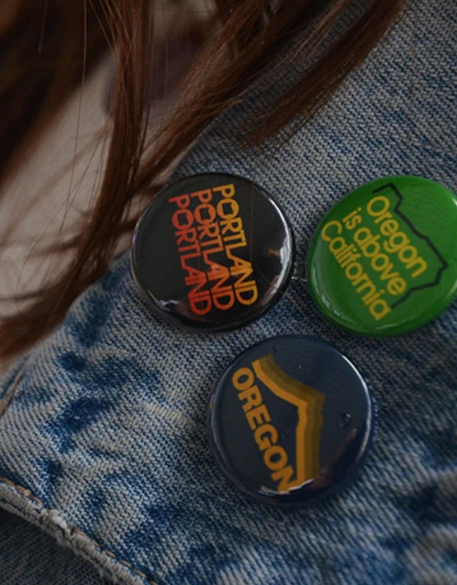 Portland Oregon Button Pack by Grafletics