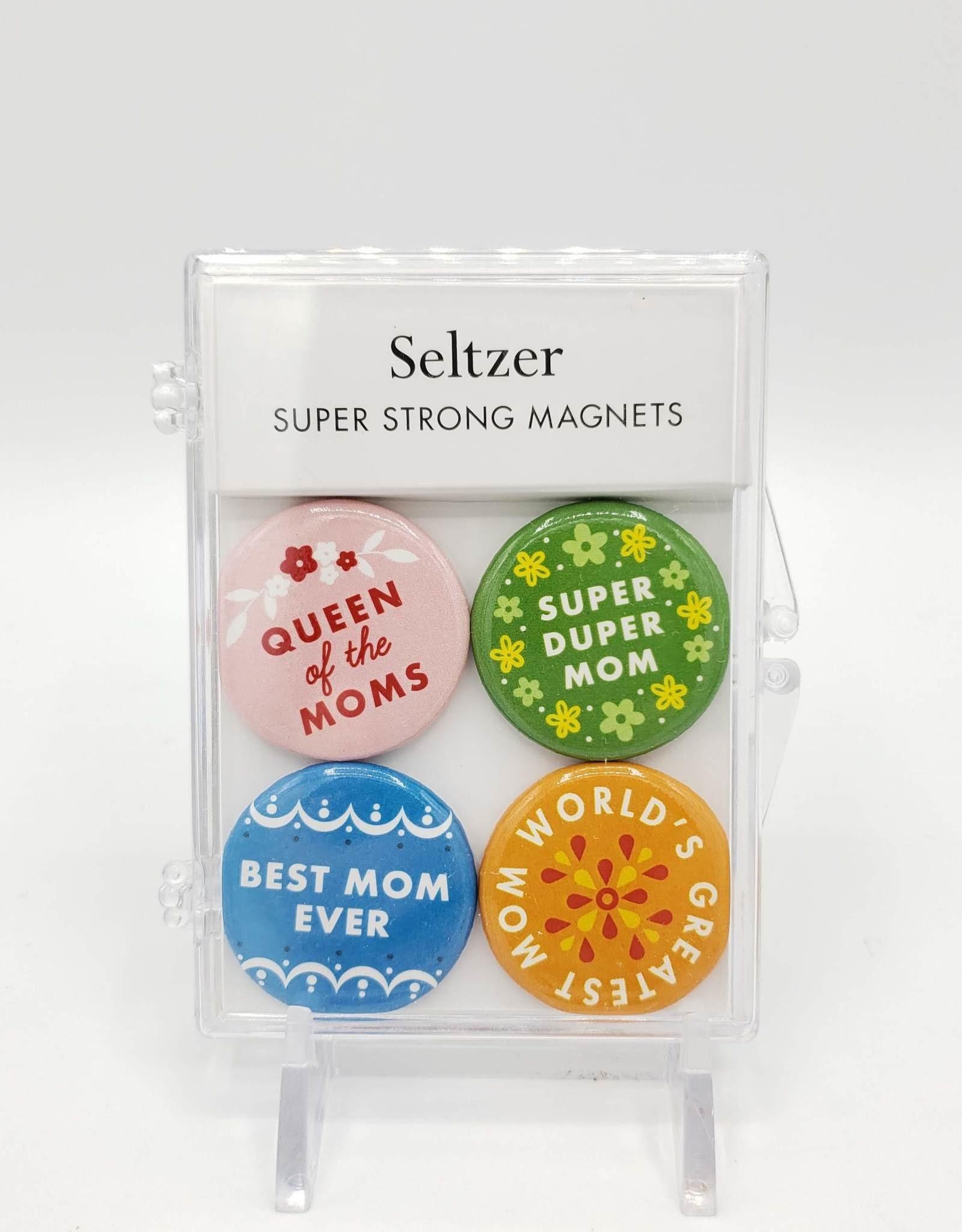 Seltzer Mom Magnet Set of 4 by Seltzer