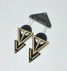 OTTI Goods Coven Earring in Black by OTTI Goods