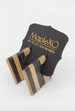 Maple XO Adelaide Earrings recycled skateboard