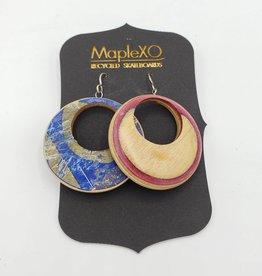 Maple XO Small Hoop Earrings - Maple XO