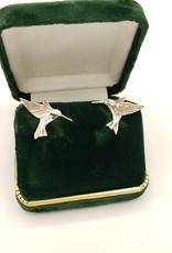 Hummingbird Post Earring, Sterling Silver