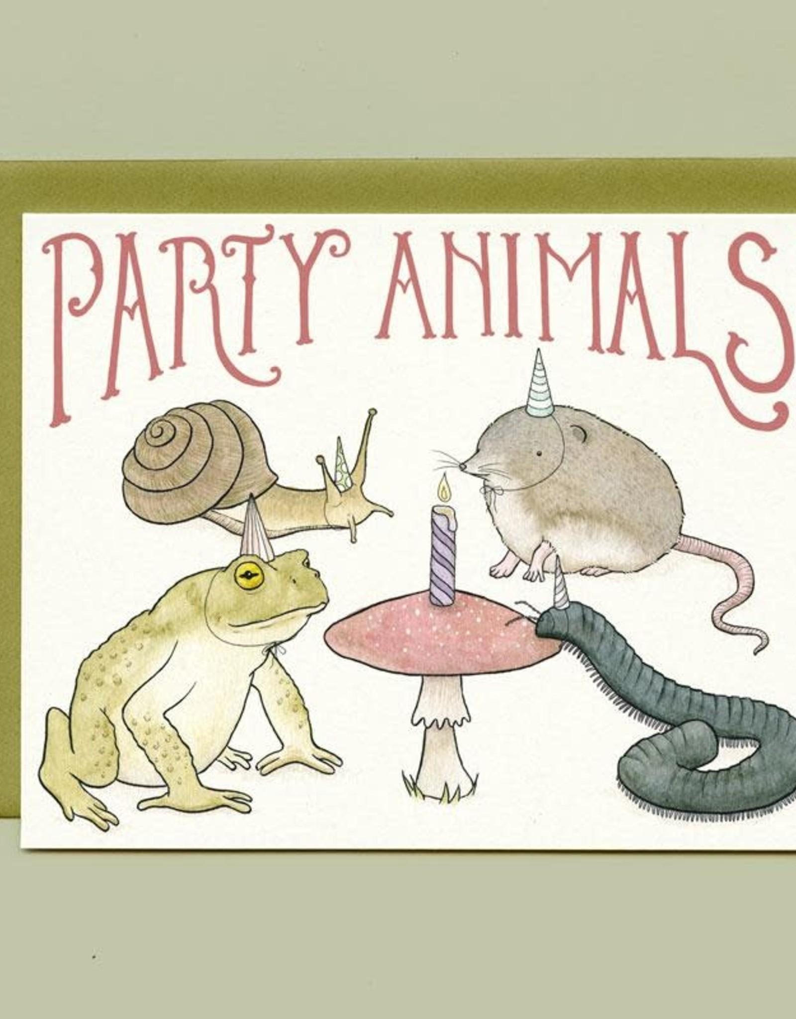 "Bee's Knees Industries ""Party Animals"" Greeting Card - Bee's Knees Industries"