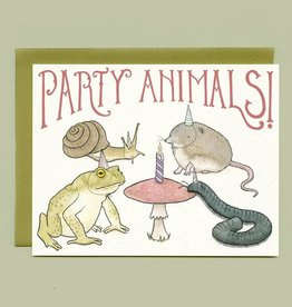 "Bee's Knees Industries ""Party Animals"" Greeting Card - Bee's Knees Industries"