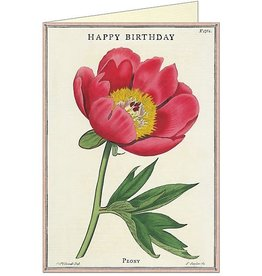 "Cavallini Papers ""Peony"" Birthday Greeting Card - Cavallini Papers"