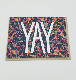 "Allison Cole ""YAY"" Greeting Card - Allison Cole"