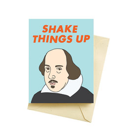 "Seltzer ""Shake Things Up"" Birthday Greeting Card - Seltzer"