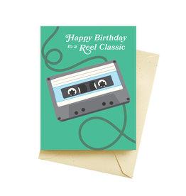 "Seltzer ""Reel Classic"" Birthday Greeting Card - Seltzer"