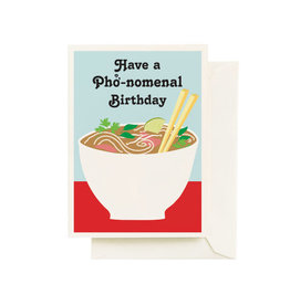 Seltzer Phonomenal Birthday Greeting Card - Seltzer