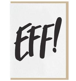"""""""Eff!"""" Belated Birthday Greeting Card - Dahlia Press"""