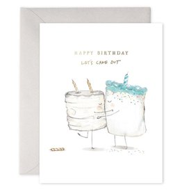Cake Out Birthday Greeting Card - E. Frances Paper