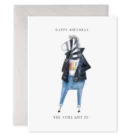 """You Still Got It"" Greeting Card - E. Frances Paper"