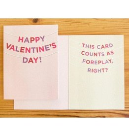 """""""Happy Valentine's Day"""" Greeting Card - Old Tom Foolery"""