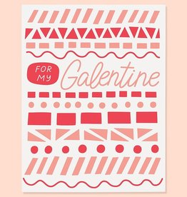 Galentine Greeting Card - The Good Twin