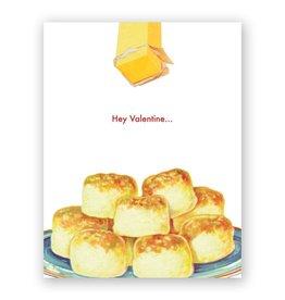 "Mincing Mockingbird ""Buttered Biscuits Valentine"" Greeting Card - The Mincing Mockingbird"