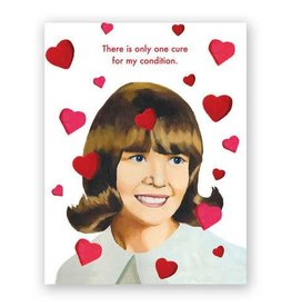 """Mincing Mockingbird """"Cure For My Condition"""" Valentine Greeting Card - The Mincing Mockingbird"""