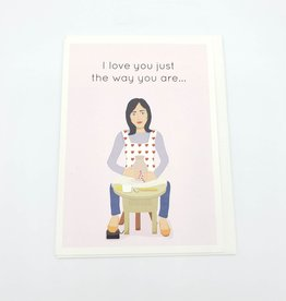 Seltzer Just The Way You Are Love Greeting Card - Seltzer