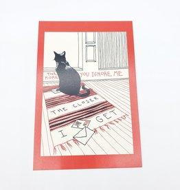 Postcard Set - Smiths Lyrics Valentines - Abacus Corvus