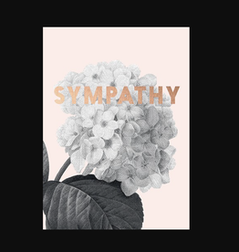 """Sympathy"" Greeting Card - Calypso"