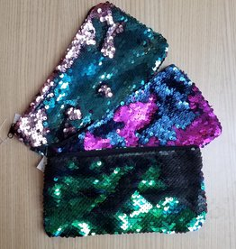 Mermaid Magic Sequin Zipper Pouches