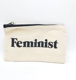 Seltzer Feminist Zipper Pouch - Seltzer