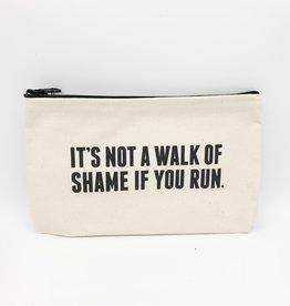 """""""Not a Walk of Shame"""" Zipper Pouch - Sapling Press"""