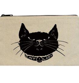 Seltzer Cat Lady Zipper Pouch - Seltzer
