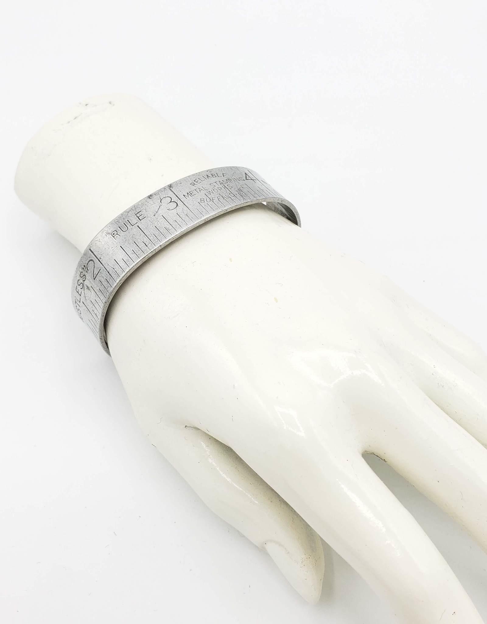 Fun Junk Ruler Cuff Bracelet