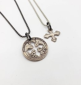 Coin Necklace, Dye-cut Shapes