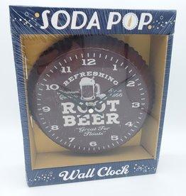 Root Beer Bottle-cap Wall Clock