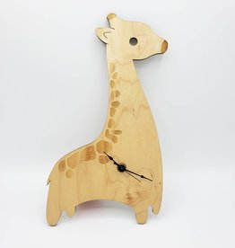 Wood Animal Clock- Unpossible Cuts