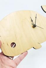 Wood Animal Clock- Unpossible Cuts