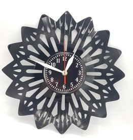 Mandala Upcycled Vinyl Record Clock