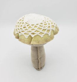 Doily Capped Mushrooms