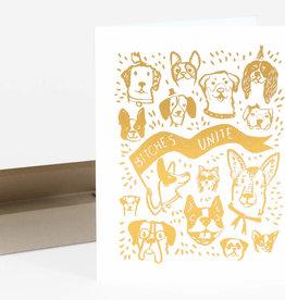 """Bitches Unite"" Greeting Card - Christa Pierce"