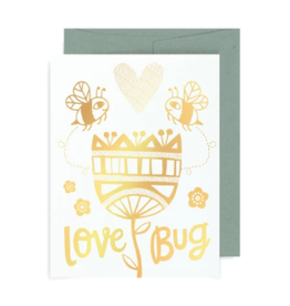"Allison Cole ""Love Bug"" Greeting Card - Allison Cole"