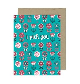"Allison Cole ""I Pick You"" Love Greeting Card - Allison Cole"