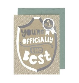 "Allison Cole ""You're Officially the Best"" Greeting Card - Allison Cole"