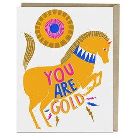 "Emily McDowell ""You Are Gold"" Greeting Card - Emily McDowell"