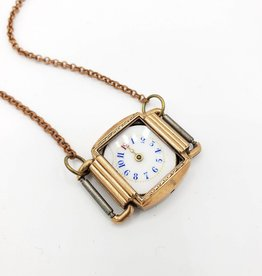 Watch Face Small Necklace