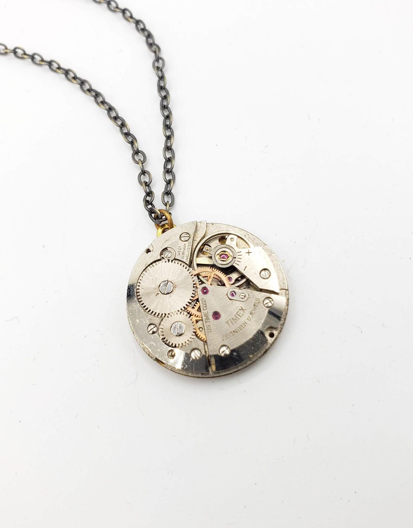 Redux Antique Watch Movement Pendant