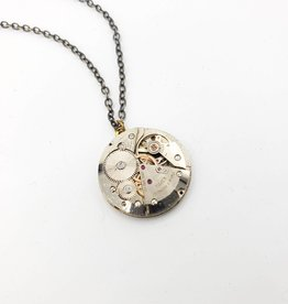 Redux Antique Watch Movement Pendant