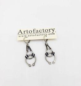 Car Parts Earrings, Rubber O-rings & Retaining Ring - Artofactory