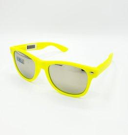 Wayfarer Sunglasses, Mirrored Lens