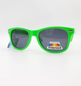 Neon Green  Wayfarer Sunglasses, Polarized