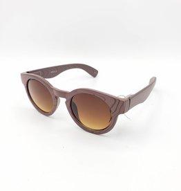 Anna Sunglasses, Faux Wood