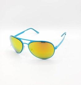 Mirrored Aviator Sunglasses, Brights